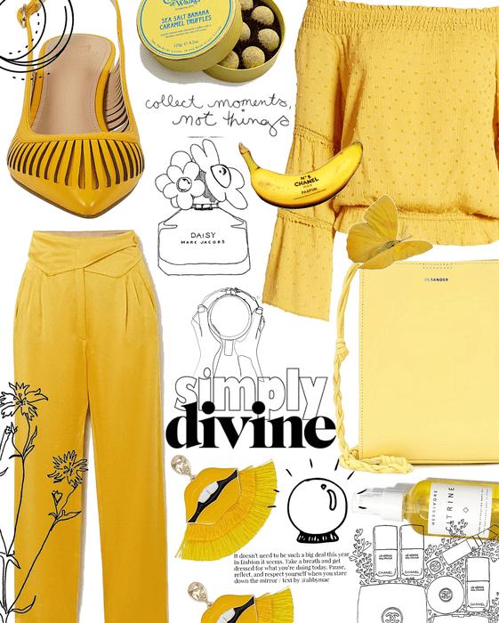 yellow power | @chloedesigns22 contest
