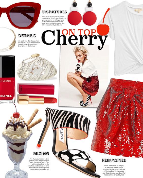 cherry on top | ice cream day