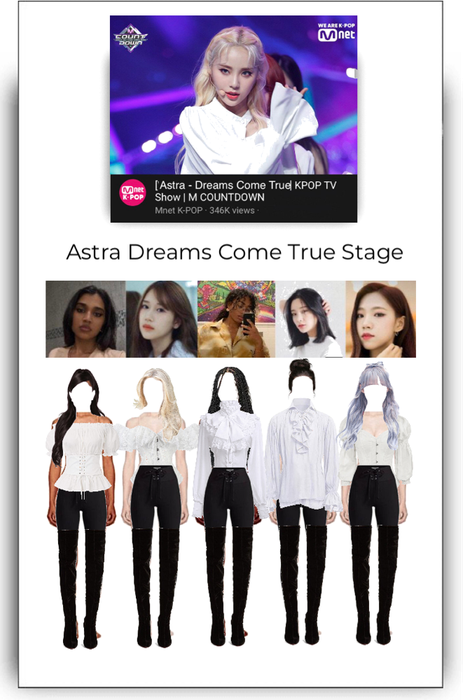 Astra Bside Dreams Come True Stage