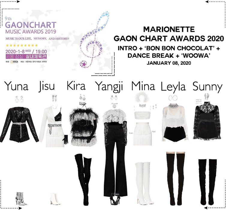 MARIONETTE (마리오네트) Gaon Chart Music Awards 2020 | Performance