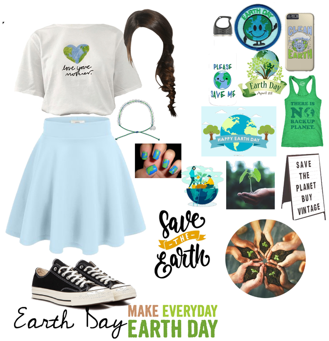 Earth day Outfit Challenge Design