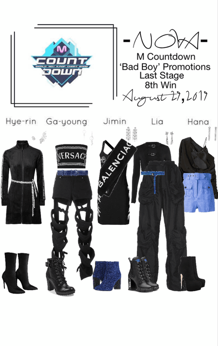 -NOVA- Bad Boy M Countdown Stage