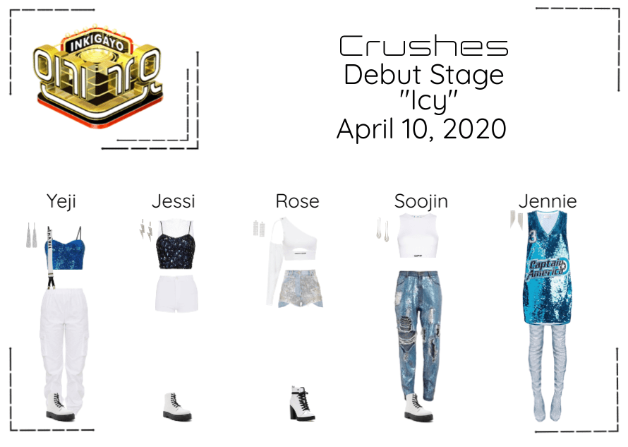 """Crushes (호감) """"쌀쌀한 (Icy)"""" Debut Stage"""