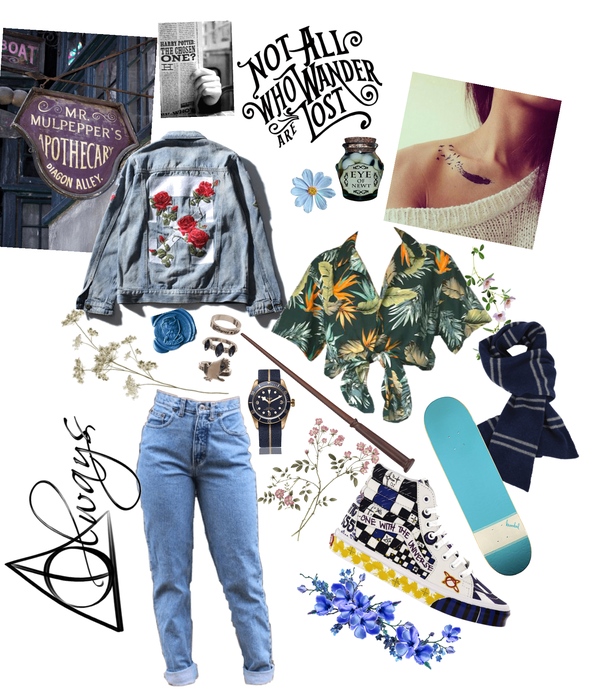 Harry Potter: Ravenclaw aesthetic