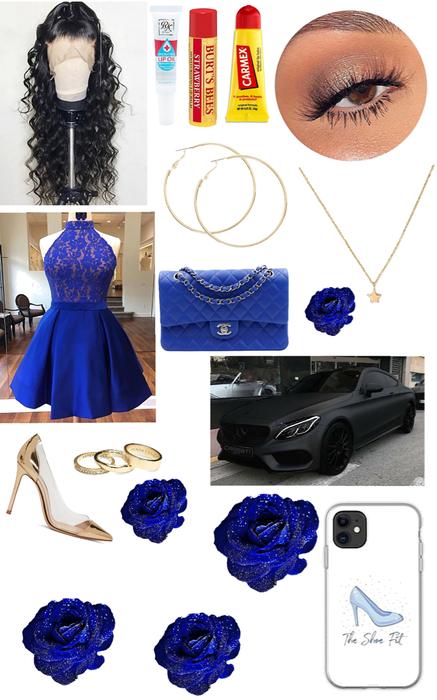 blue prom 💙
