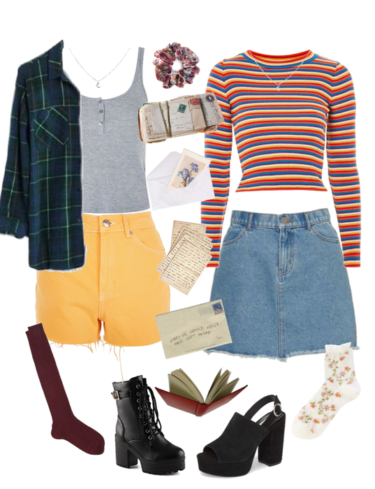 2 lara jean covey inspired looks