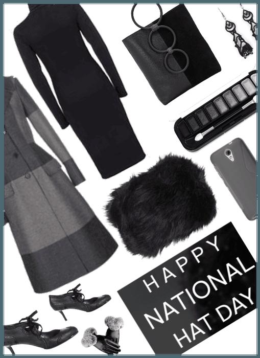 National Hat Day/Faux Fur Hat