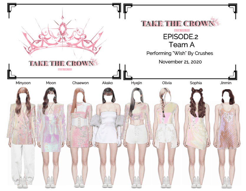 """""""Take The Crown"""" Ep.2 [Team A] Performing"""