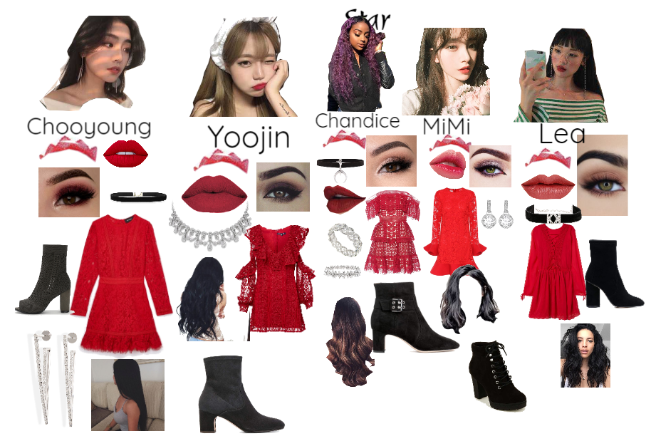 Peek-a-boo First Win Outfits