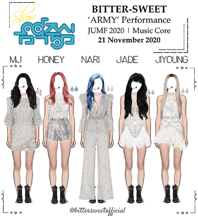 BITTER-SWEET [비터스윗] Show! Music Core 201121