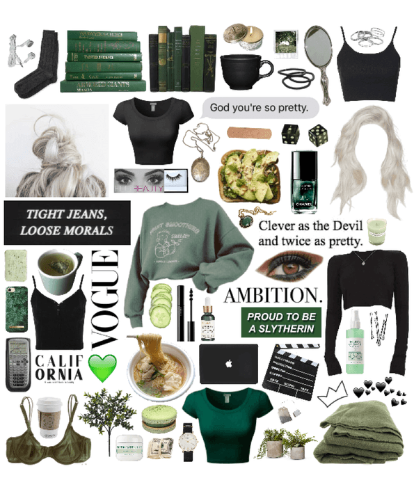 Slytherin College Vibesss