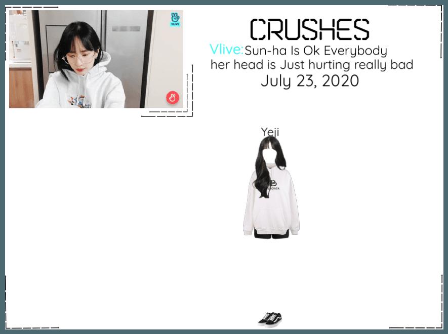 Crushes (호감) [Yeji] Surprise Vlive