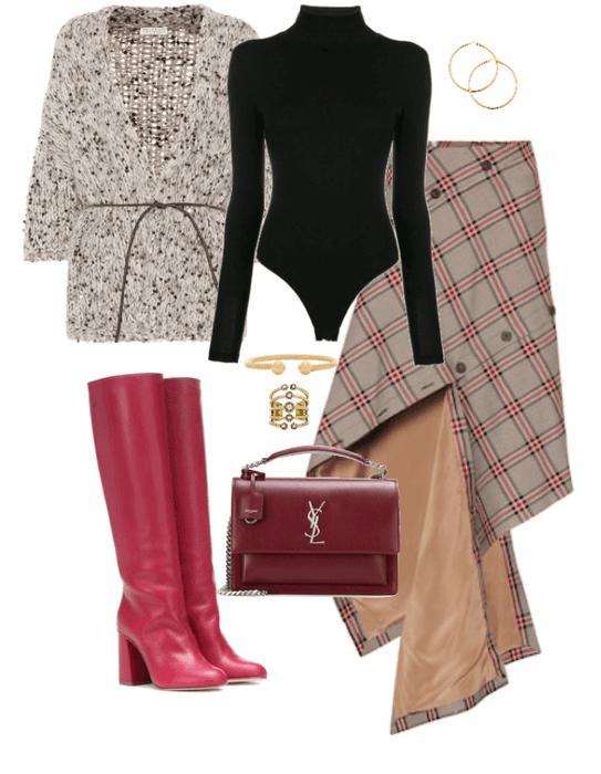 must have: tweed skirt