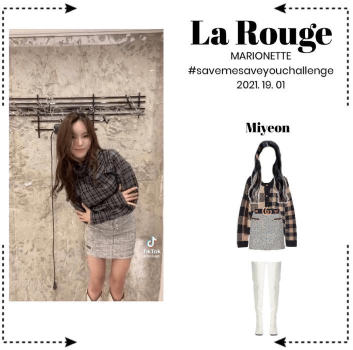 La Rouge [라로그]_ TikTok: #SAVEMESAVEYOUCHALLENGE (2021. 19. 01)