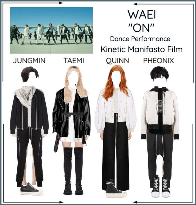 """WAEI II """"ON"""" DANCE PERFOREMANCE"""