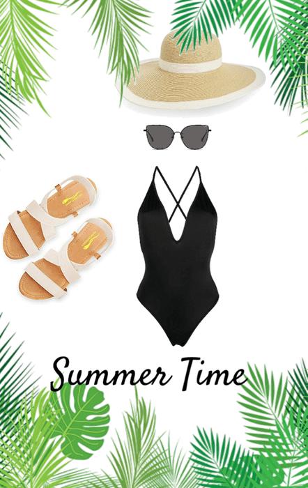 Summer Time! Pool or Beach?