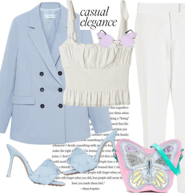 Spring Pansuit: Butterflies