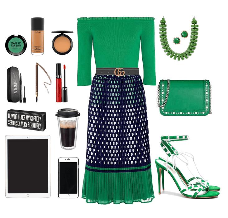 green is always a good idea