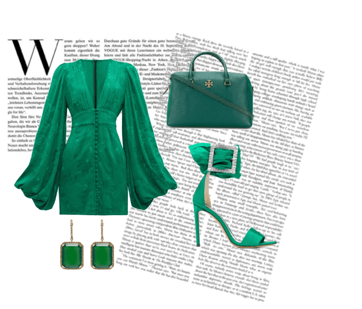 Look No. 5: Green with Envy