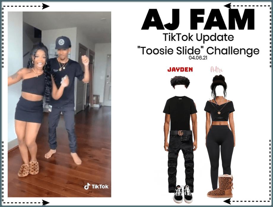 AJ FAM | Toosie Slide Challenge