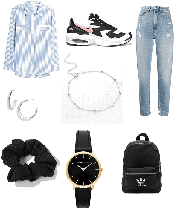 normal school day outfit
