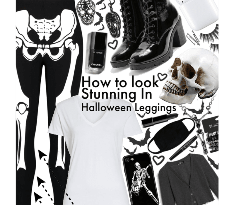 How to look stunning in hall9ween leggings