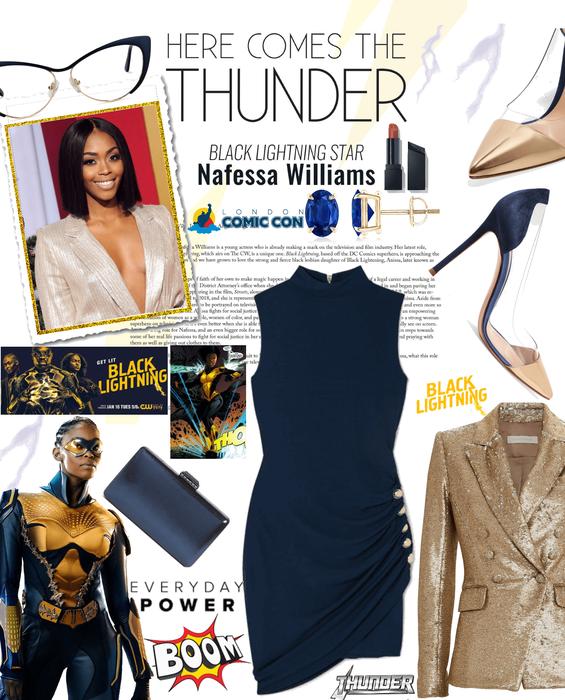 Meet Thunder aka Nafessa Williams -