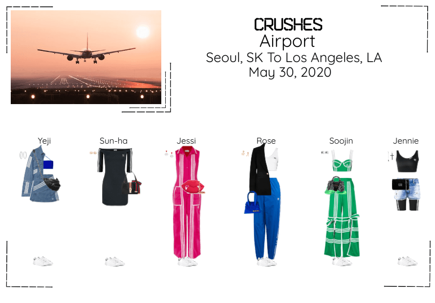 Crushes Airport Seoul, SK To Los Angeles, LA
