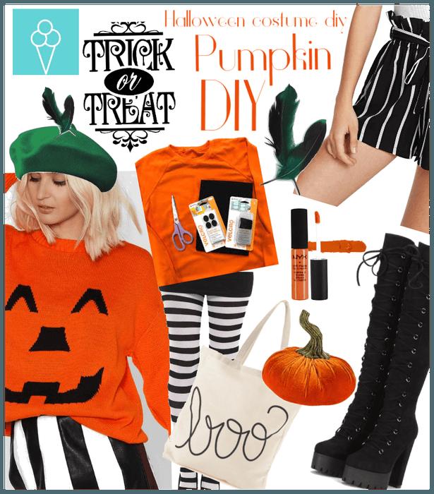 # Halloween costume Diy challenge # Shoplook # Pum