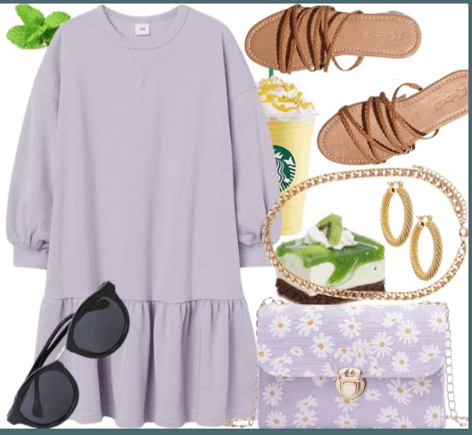 oc - cute in lilac