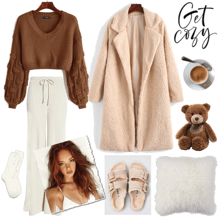 Cozy home outfit