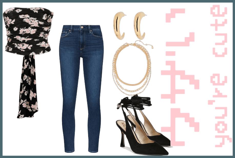 Jeans & A Cute Top @sunshinekess style
