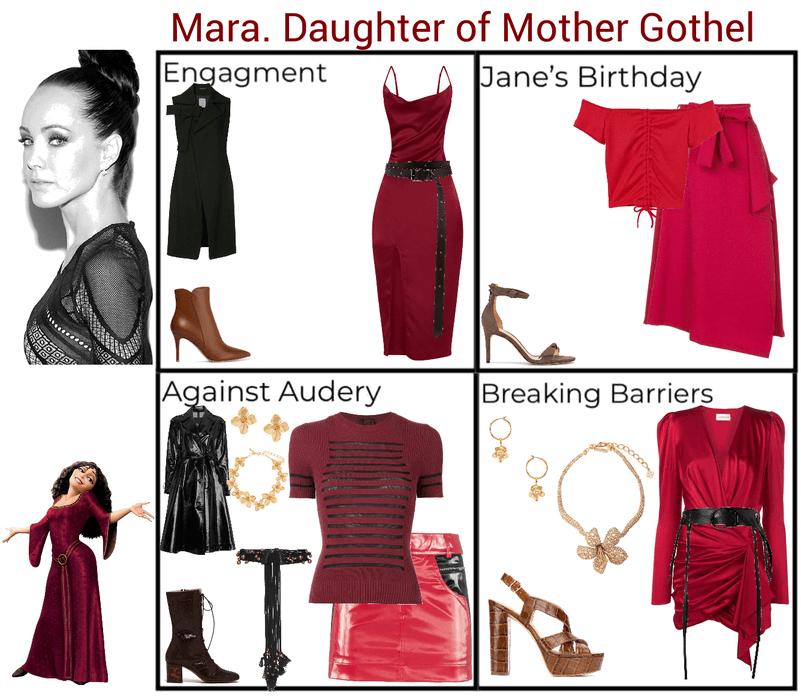 Mara. Daughter of Mother Gothel. Descendants 3