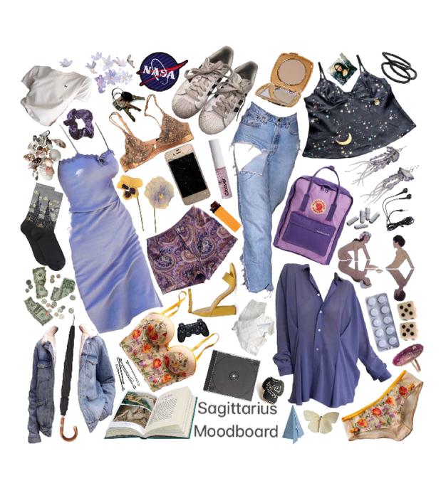 Sagittarius Moodboard