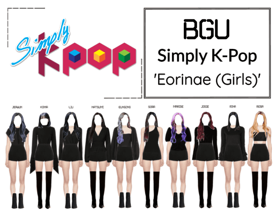 BGU Simply K-Pop 'Eorinae (Girls)'