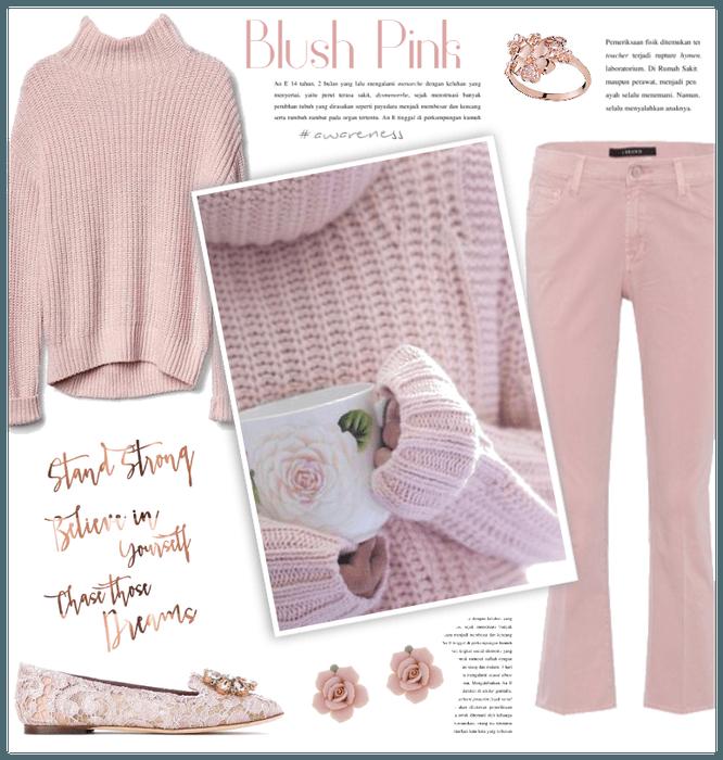 Blush Pink & Rose Gold