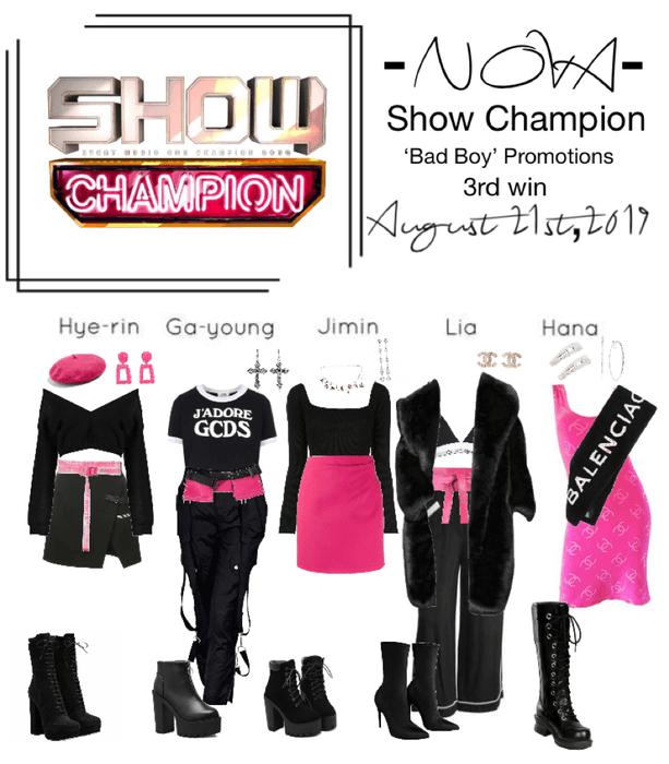 -NOVA- 'Bad Boy' Show Champion Stage