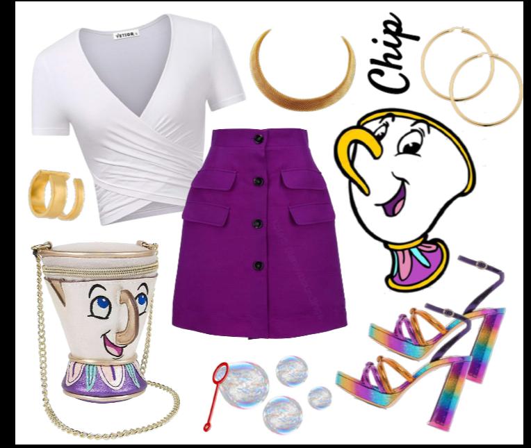Chip outfit - Disneybounding - Disney