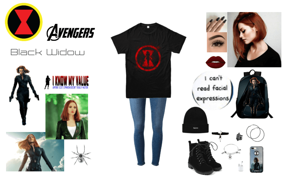 Black Widow Inspired