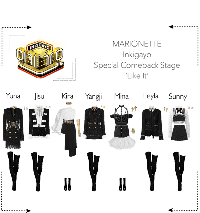 MARIONETTE (마리오네트) [Inkigayo] 'Like It' | Special Comeback Stage