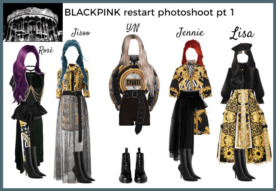 BLACKPINK restart photoshoot pt 1