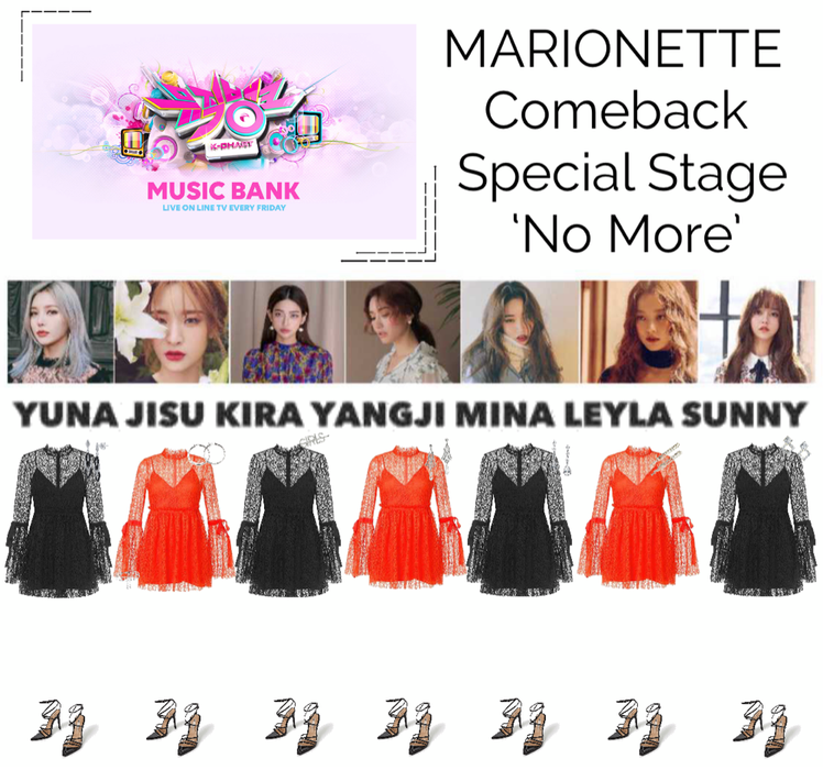 {MARIONETTE} Music Bank Comeback Special Stage