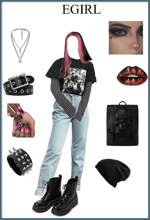 Back to school egirl