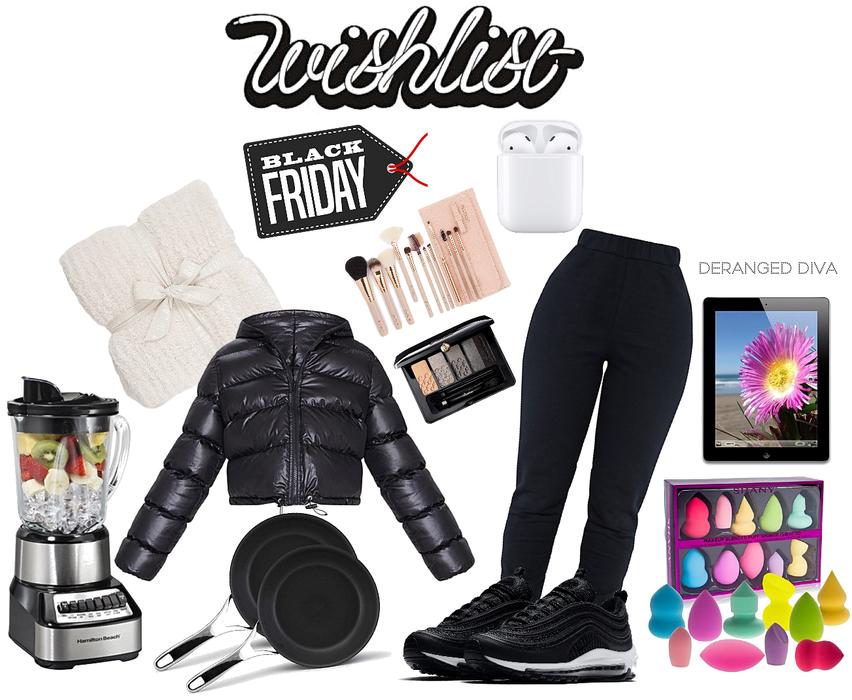 Black Friday wishlist