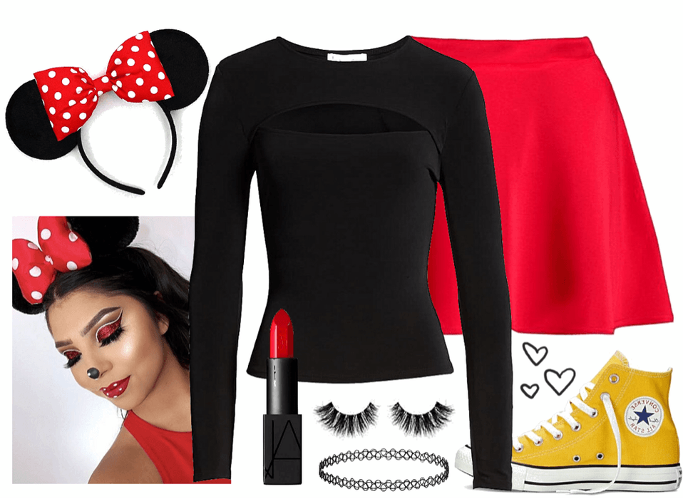 LAST MINUTE COSTUME: Minnie Mouse