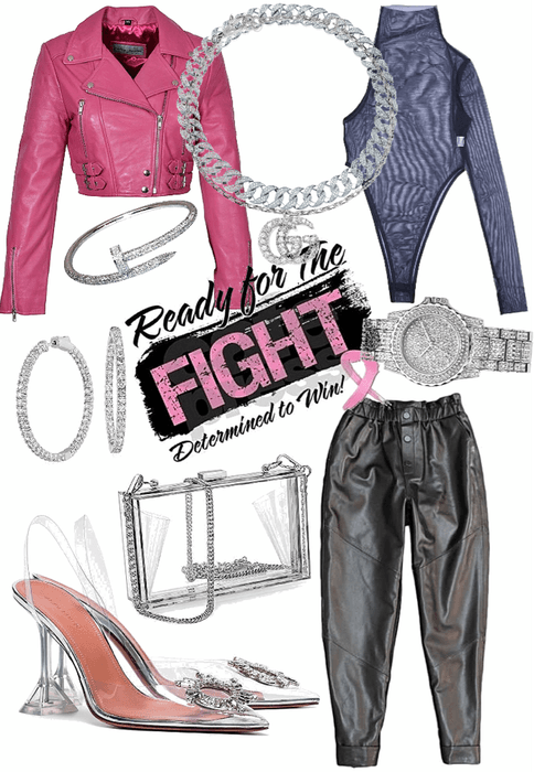 fight with power in pink