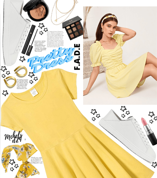 Yellow Pretty Dress