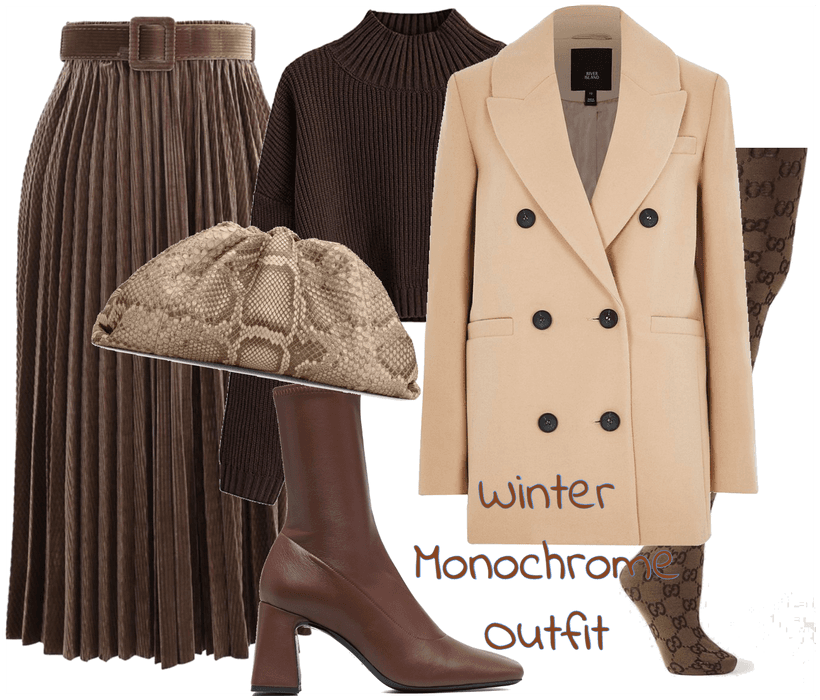 Winter Monochrome Outfit