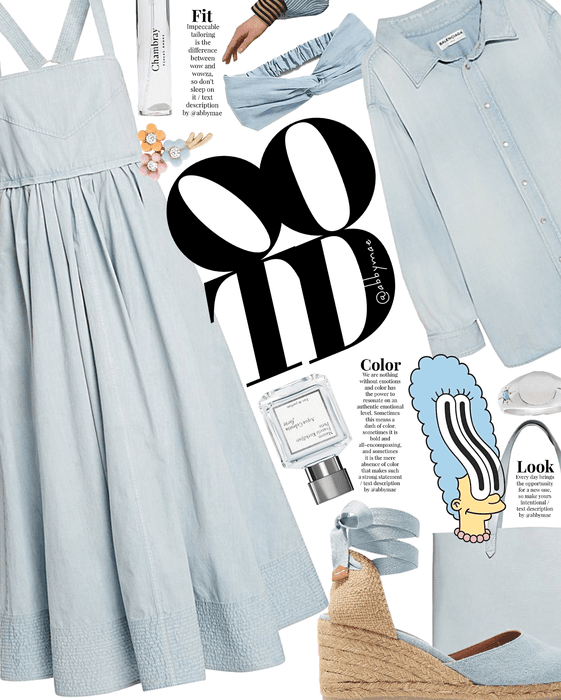 chambray day | celebrate ootd