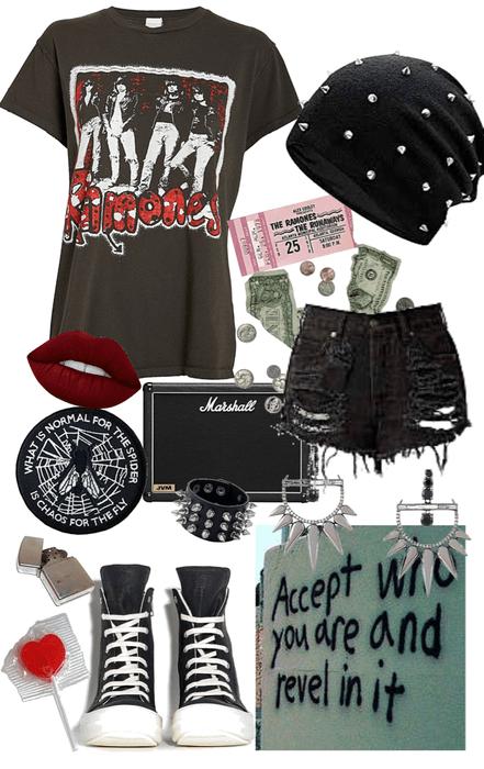 Rockin Ramones Style